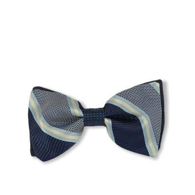 Παπιγιόν Μπλε - Γαλάζιο 100% Silk