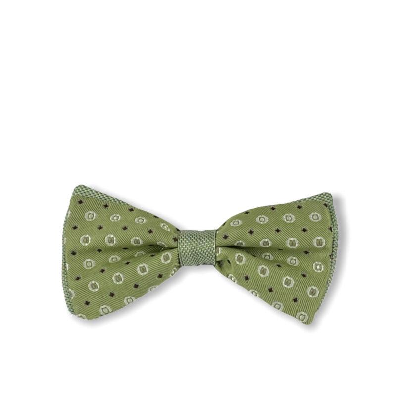 Παπιγιόν Πράσινο 100% Silk