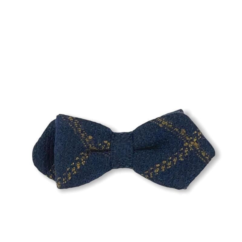 Παπιγιόν Μπλε - Ταμπά 100% Wool