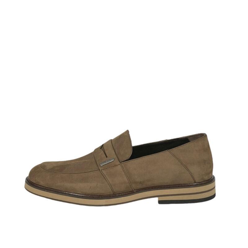 Παπούτσια Loafers Μπεζ Σκούρο