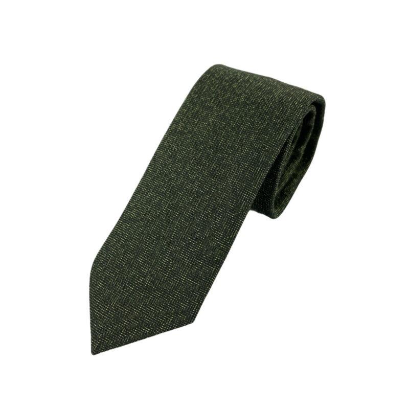 Γραβάτα Microfibra Λαδί 202-10-0930-1101-3