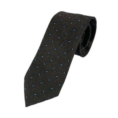 Γραβάτα Microfibra Καφέ Λαχούρ 202-10-0930-1106-1