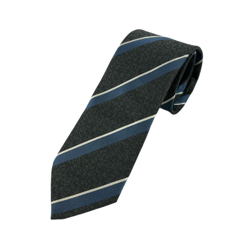 Γραβάτα Microfibra Γκρι - Μπλε 202-10-0930-1108-2