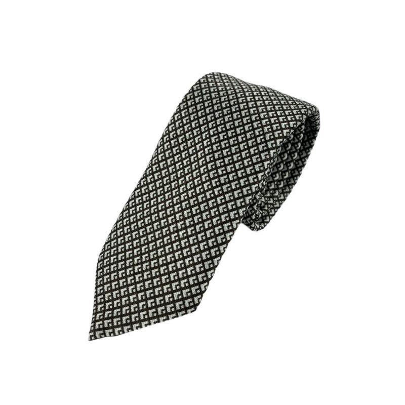 Γραβάτα Microfibra Καφέ - Γκρι 202-10-0930-1110-1