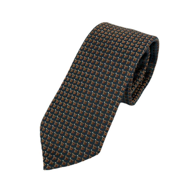 Γραβάτα Microfibra Μπλε - Κεραμιδί 202-10-0930-1112-1