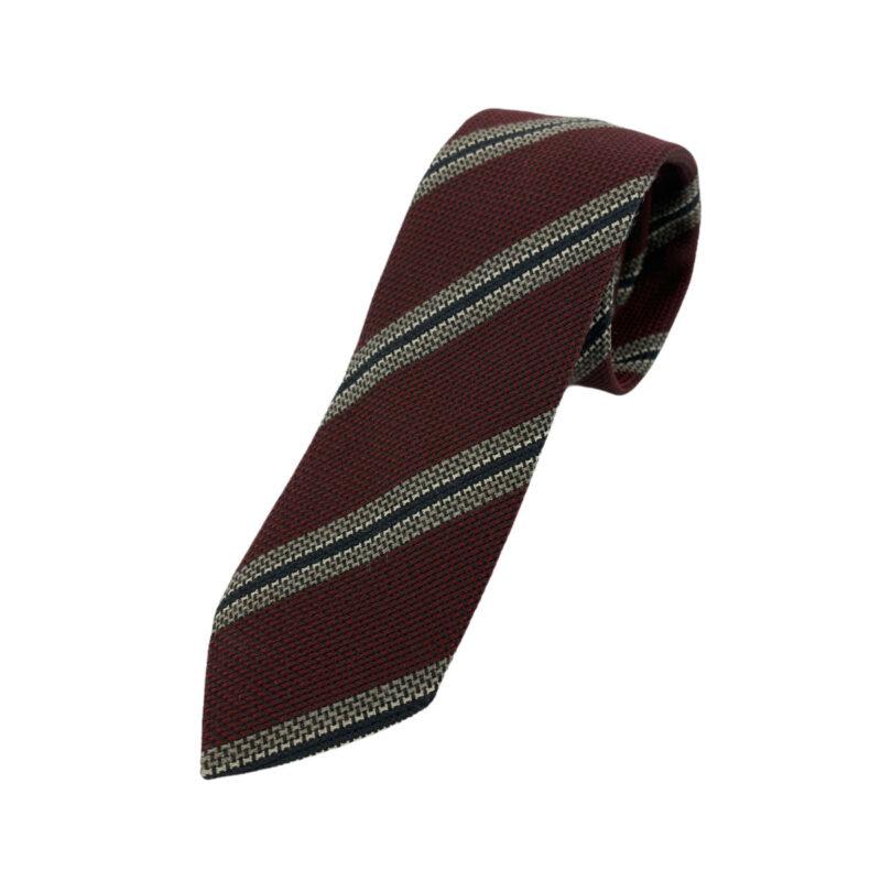 Γραβάτα Argento Κόκκινο - Μπλέ Ριγέ 202-12-1250-1201-1