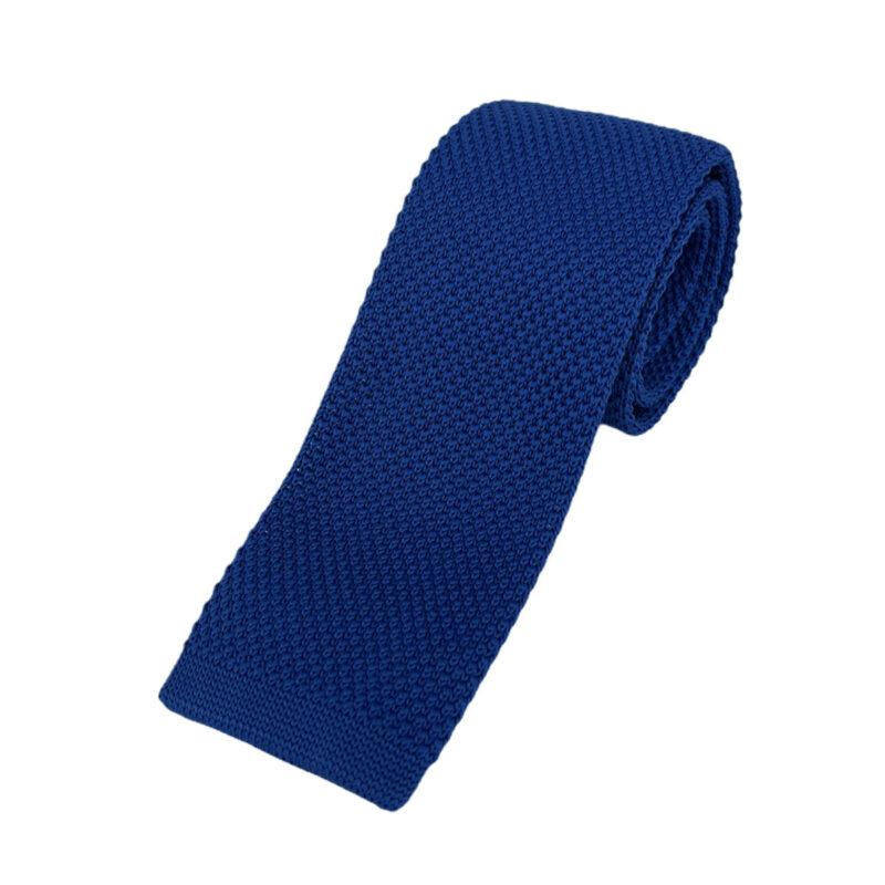 Γραβάτα Πλεκτή Microfibra Μπλε Ρουά 202-14-1250-1266-2