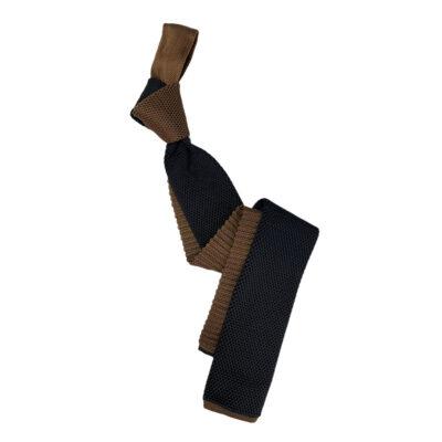 Γραβάτα Πλεκτή Microfibra Μαύρη - Ταμπά 202-14-1250-1267-5
