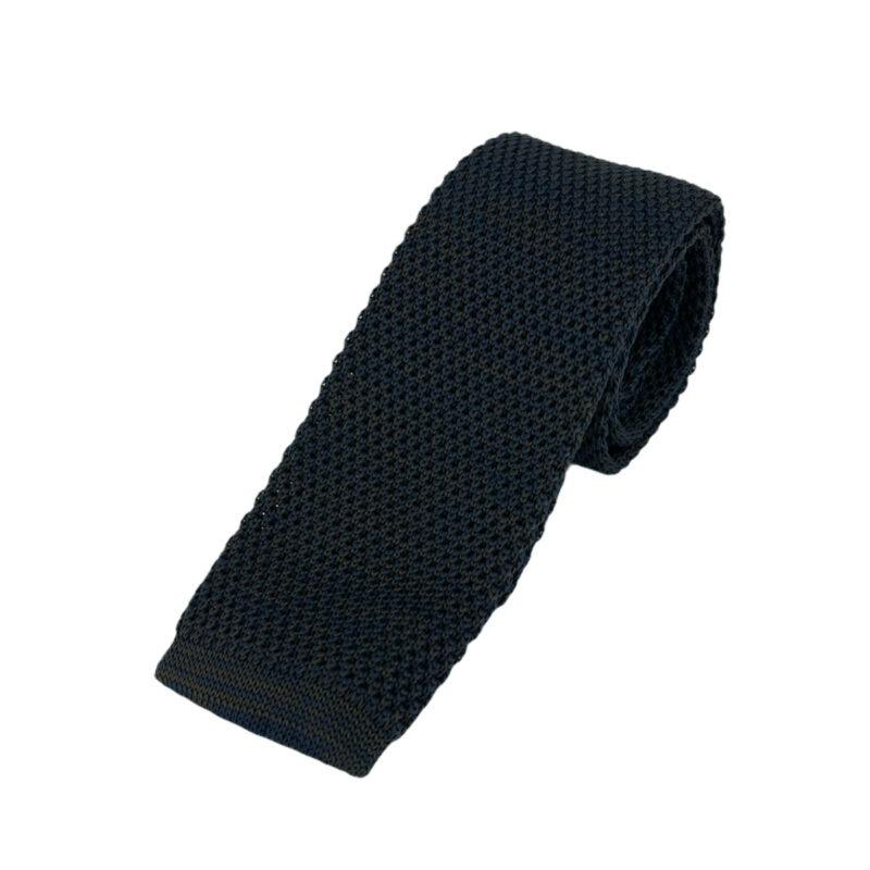 Γραβάτα Πλεκτή Microfibra Μπλε - Καφέ 202-14-1250-1269-1