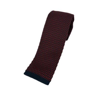 Γραβάτα Πλεκτή Microfibra Μπλε - Κόκκινη 202-14-1250-1270-1