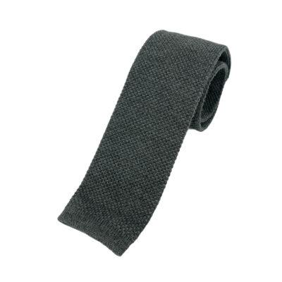 Γραβάτα Πλεκτή Μάλλινη Γκρι 202-17-1750-1700-2
