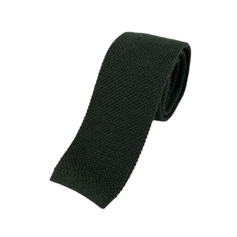 Γραβάτα Πλεκτή Μάλλινη Πράσινη 202-17-1750-1700-4