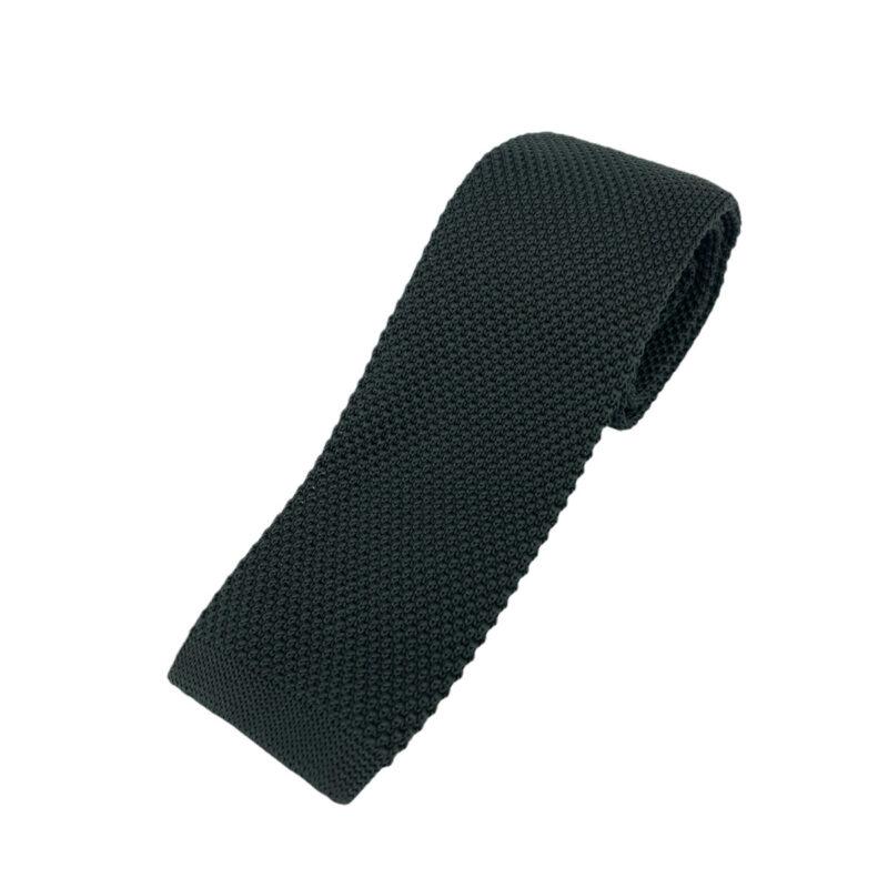 Γραβάτα Πλεκτή Μάλλινη Μαύρη 202-17-1750-1706-1