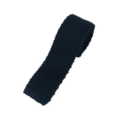 Γραβάτα Πλεκτή Μεταξωτή Μπλε 202-22-1950-2201-2