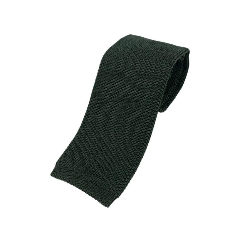 Γραβάτα Πλεκτή Μεταξωτή Πράσινη 202-22-1950-2202-1