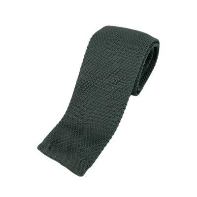 Γραβάτα Πλεκτή Μεταξωτή Γκρι 202-22-1950-2204-1