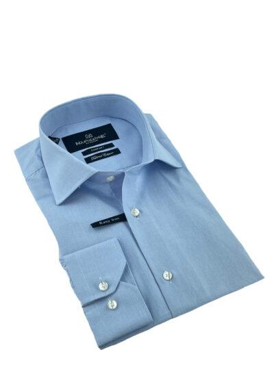 Πουκάμισο Γαλάζιο Micro Jacquard Comfort