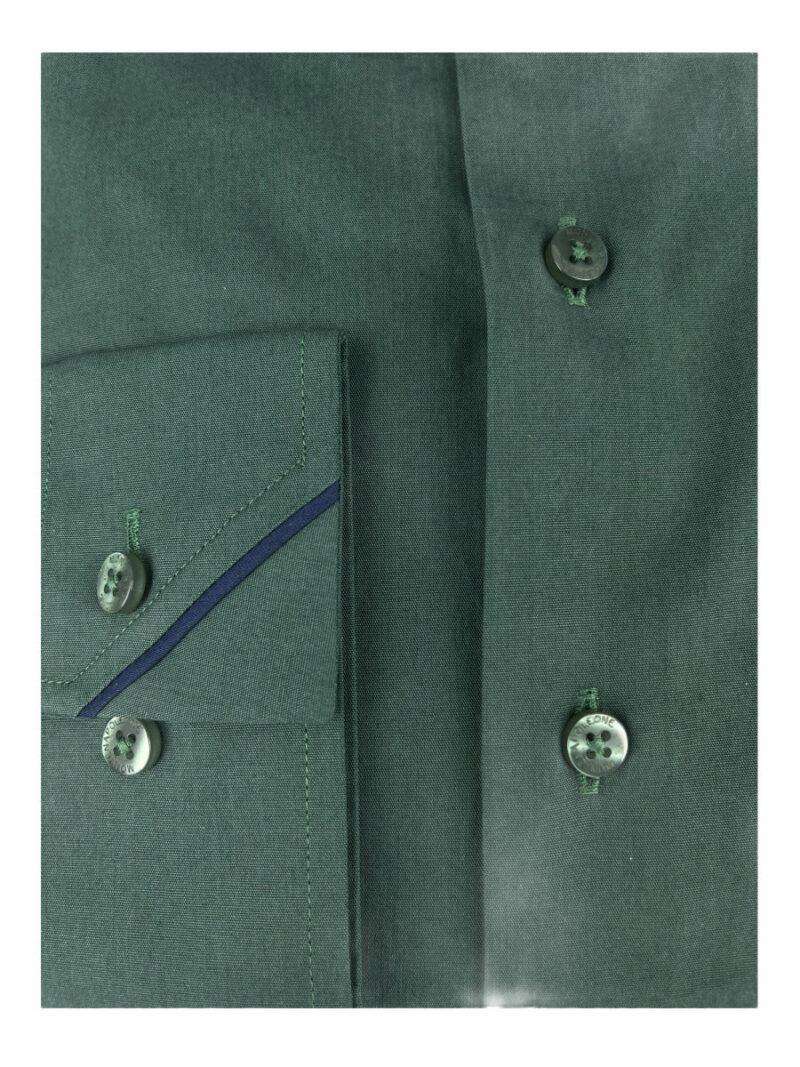 Πουκάμισο Πράσινο Μονόχρωμο 202-31-2295-3274-4 Interfit
