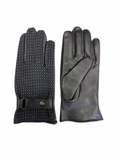 Δερμάτινα Γάντια Μπλε 202-86-1950-7343-10