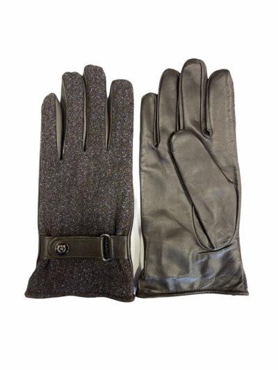 Δερμάτινα Γάντια Καφέ 202-86-1950-7343-11