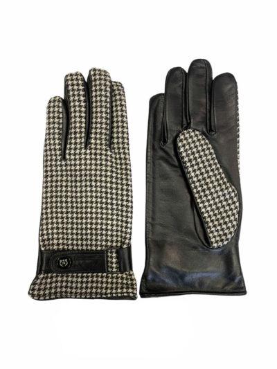 Δερμάτινα Γάντια Μαύρα 202-86-1950-7346-3