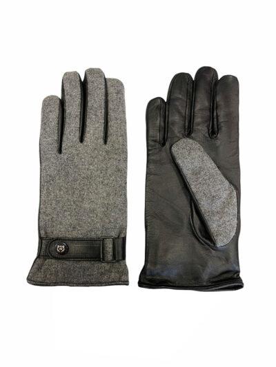 Δερμάτινα Γάντια Μαύρα 202-86-1950-7355-3