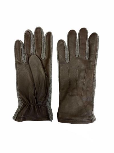 Δερμάτινα Γάντια Καφέ 202-86-2285-8601-2