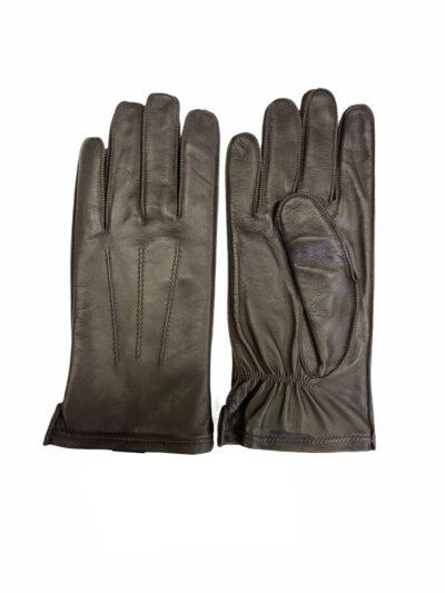 Δερμάτινα Γάντια Καφέ 202-86-2285-8655-7