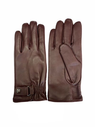 Δερμάτινα Γάντια Μπορντώ 202-86-2285-8658-3