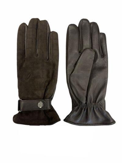 Δερμάτινα Γάντια Καφέ 202-86-2675-8604-2