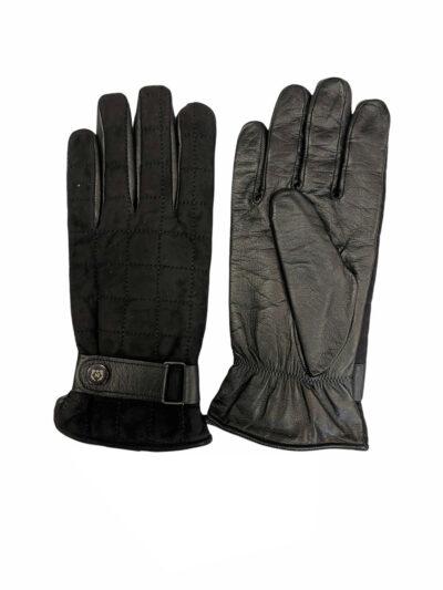 Δερμάτινα Γάντια Μαύρα 202-86-2675-8604-3