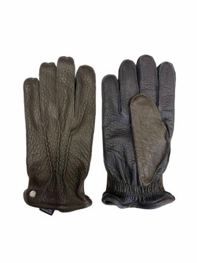 Δερμάτινα Γάντια Καφέ 202-86-2675-8607-1