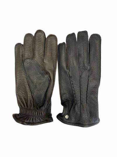 Δερμάτινα Γάντια Μαύρα 202-86-2675-8607-2