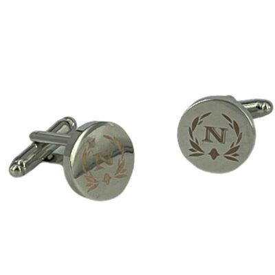 Μανικετόκουμπα Ασημί 202-95-1150-9504-1