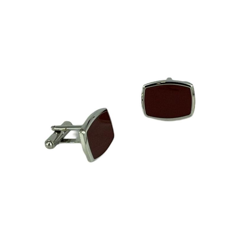 Μανικετόκουμπα Μπορντώ 202-95-1150-9512-1