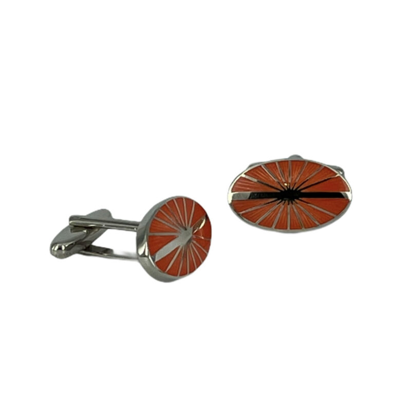 Μανικετόκουμπα Πορτοκαλί 202-95-1150-9520-1