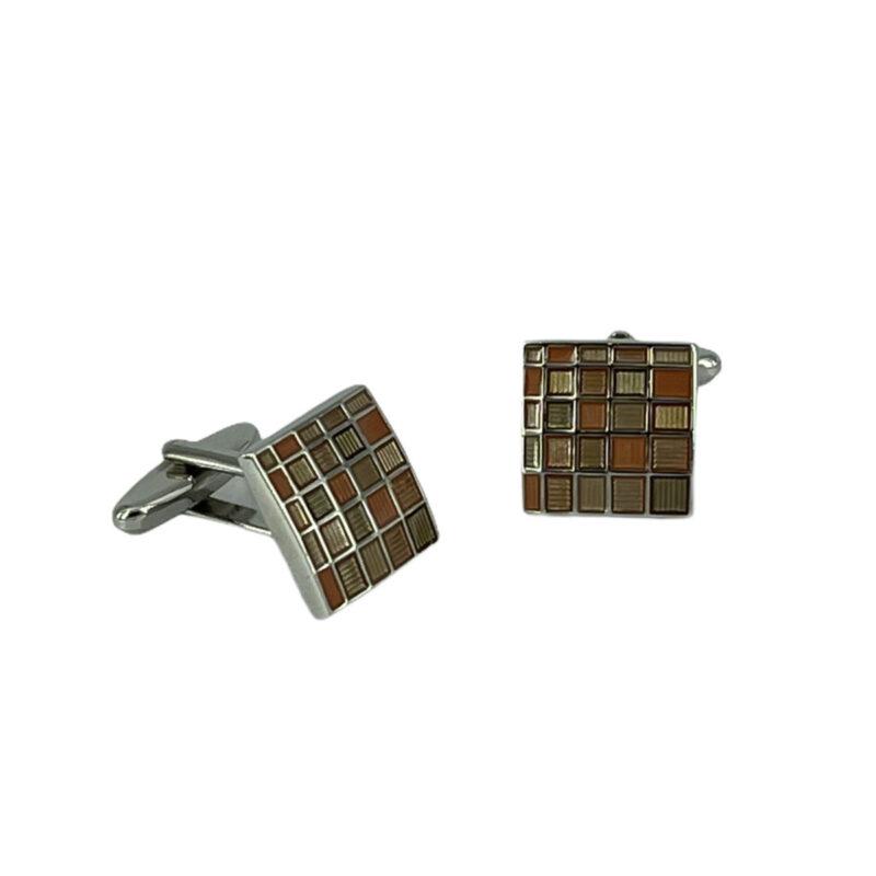 Μανικετόκουμπα Καφέ 202-95-1150-9522-1