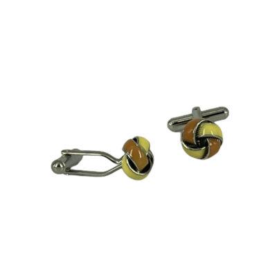 Μανικετόκουμπα Κίτρινο - Πορτοκαλί 202-95-1150-9523-1