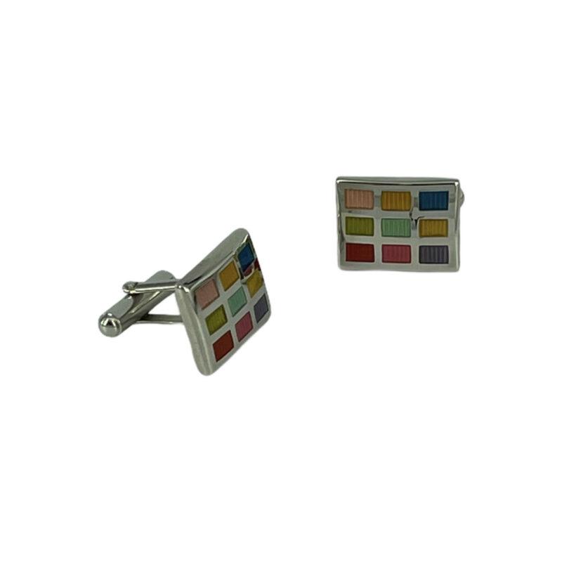 Μανικετόκουμπα Multi color 202-95-1535-9620-1