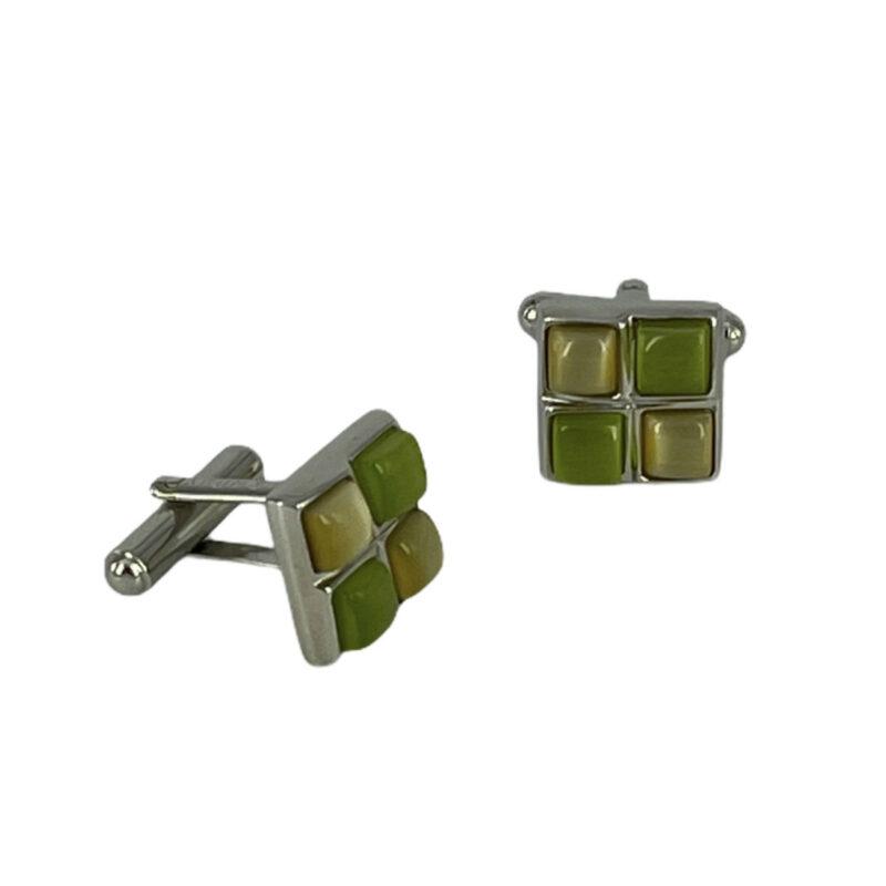 Μανικετόκουμπα Πράσινα 202-95-1535-9623-2