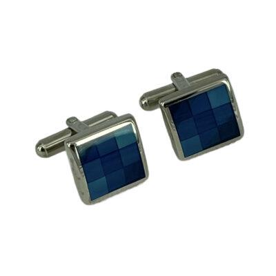 Μανικετόκουμπα Μπλε 202-95-1535-9638-4
