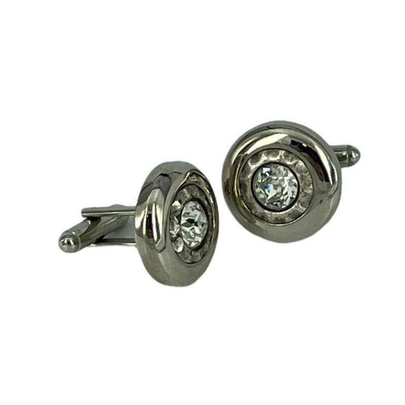 Μανικετόκουμπα Ασημί 202-95-1850-9728-2