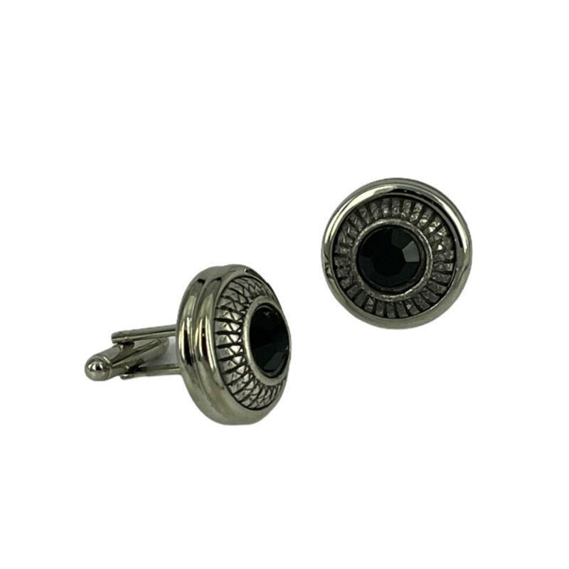 Μανικετόκουμπα Ασημί 202-95-1850-9747-1