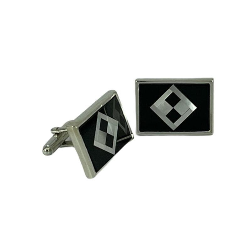 Μανικετόκουμπα Μαύρα 202-95-1850-9769-1