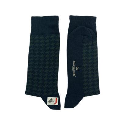 Κάλτσες Μπλε - Πράσινες Jacquard