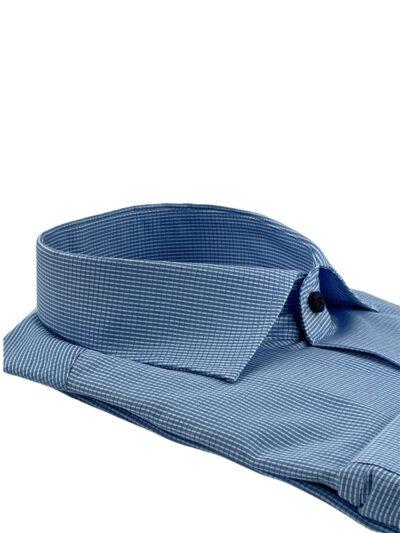 Πουκάμισο Γαλάζιο Καρό Comfort