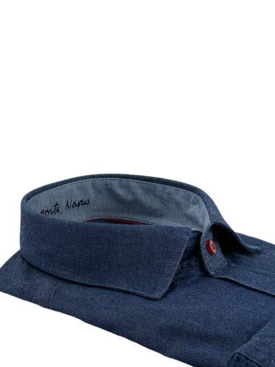 Πουκάμισο Μπλε Jeans Interfit