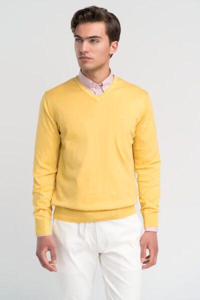 Πλεκτό Κίτρινο