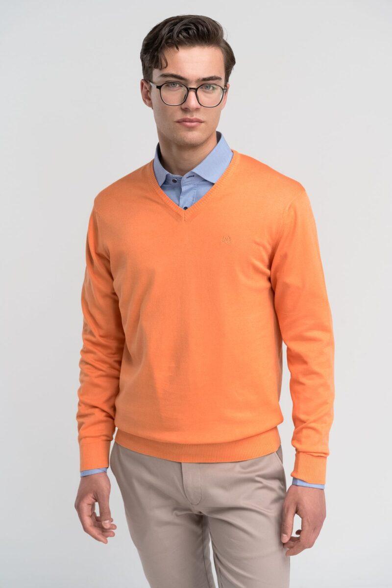 Πλεκτό Πορτοκαλί