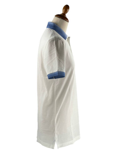 Μπλούζα πόλο μονόχρωμη Λευκή